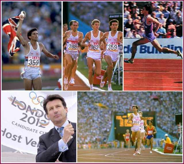 Image result for Seb Coe – track and field athlete