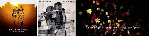 snow patrol final straw 2003 eyes open 2006 hundred million suns 2008