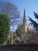 stratford upon avon england holy trinity church  spring 2009 roadsofstone