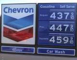 $4 gasoline Richmond California USA june 2008 by RevTimMedia flickr