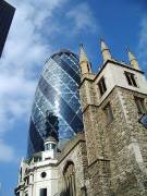 gherkin st andrew undershaft city of london england by roadsofstone