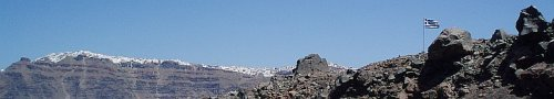santorini greece thira panorama from nea kamini island by roadsofstone