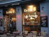 evening at the evita cafe oslo norway by roadsofstone