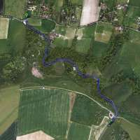 ditchling beacon climb ditchling sussex england google maps satellite view