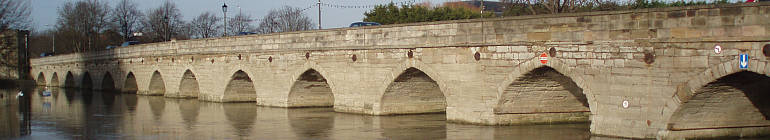 clopton bridge stratford-upon-avon england crop by roadsofstone