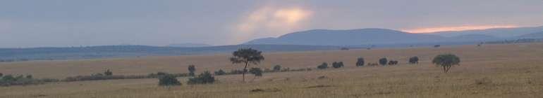 dawn, masai mara kenya august 2007 by roadsofstone
