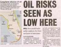 florida beaches oil risk deepwater horizon press cutting july 2010