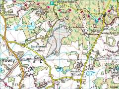barhatch lane alderbrook road climbs cranleigh surrey england streetmap co uk