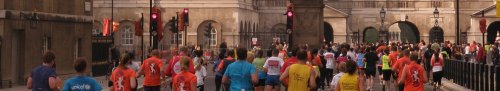 red lights on whitehall royal parks half marathon london 2010 by roadsofstone