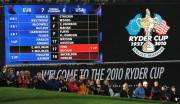 ryder cup 2010 blue scoreboard celtic manor wales sunday c visitwales com