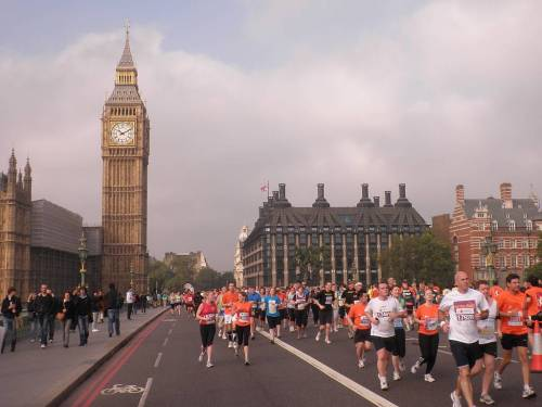 ten ten ten westminster bridge royal parks half marathon london by roadsofstone