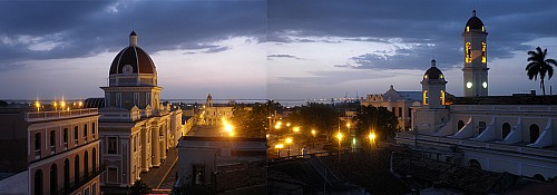 rooftop panorama cienfuegos cuba by roadsofstone