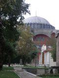 agia sofia from topkapi palace istanbul turkey by roadsofstone