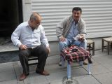 breakfast on the streets of istanbul turkey by roadsofstone