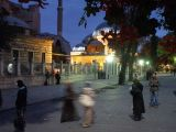 evening beside the agia sofia istanbul turkey by roadsofstone