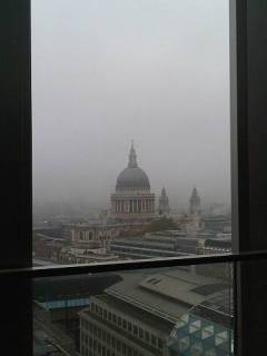 st pauls cathedral london england november morning city bank view by roadsofstone
