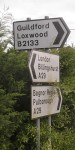 brighton guildford on the b2133 near billingshurst west sussex england by roadsofstone