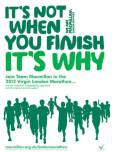 macmillan cancer support london marathon poster 2012