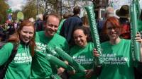 team macmillan supporters london marathon 2012 thisiszonecom